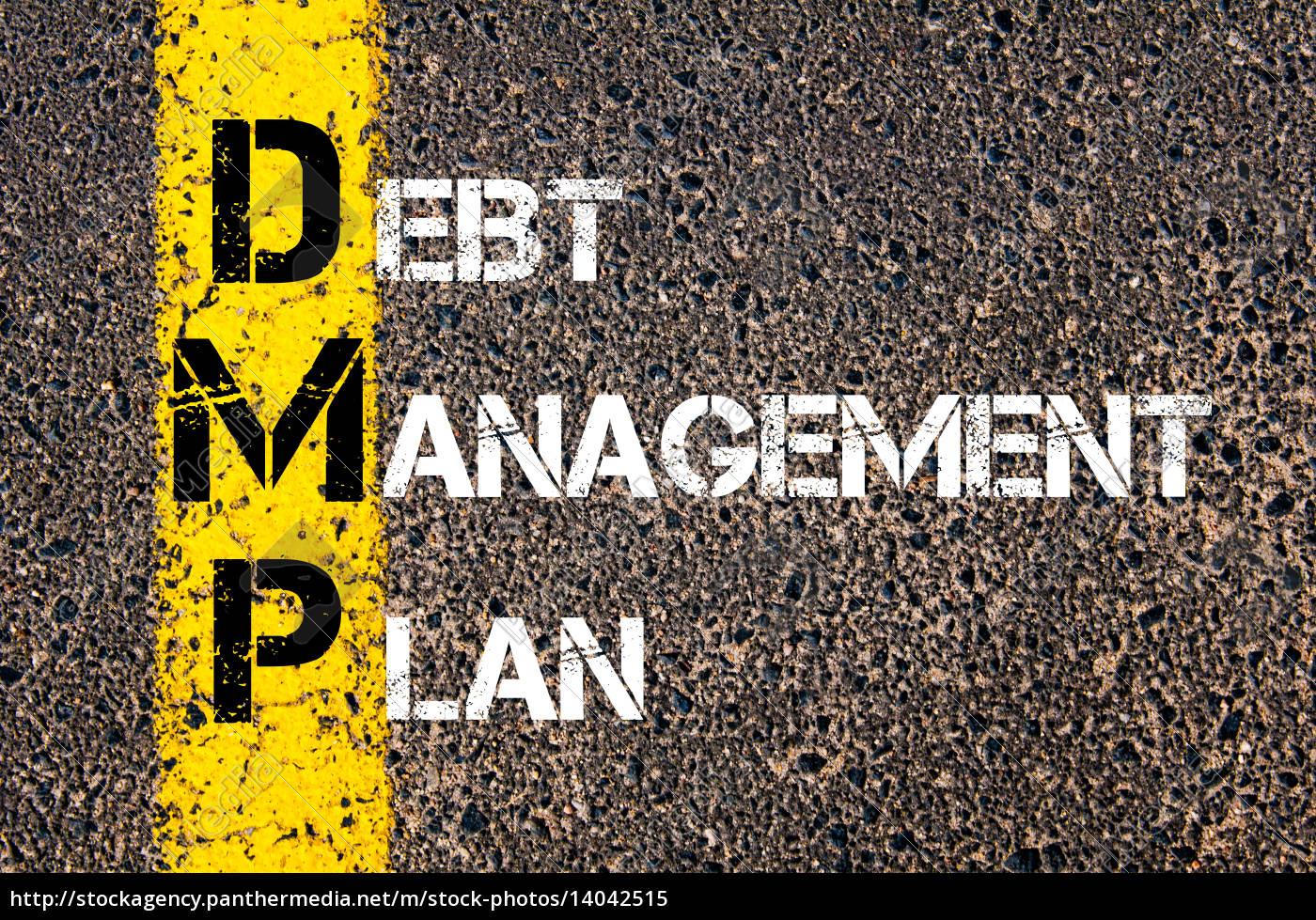 acronym, dmp, -, debt, management, plan - 14042515