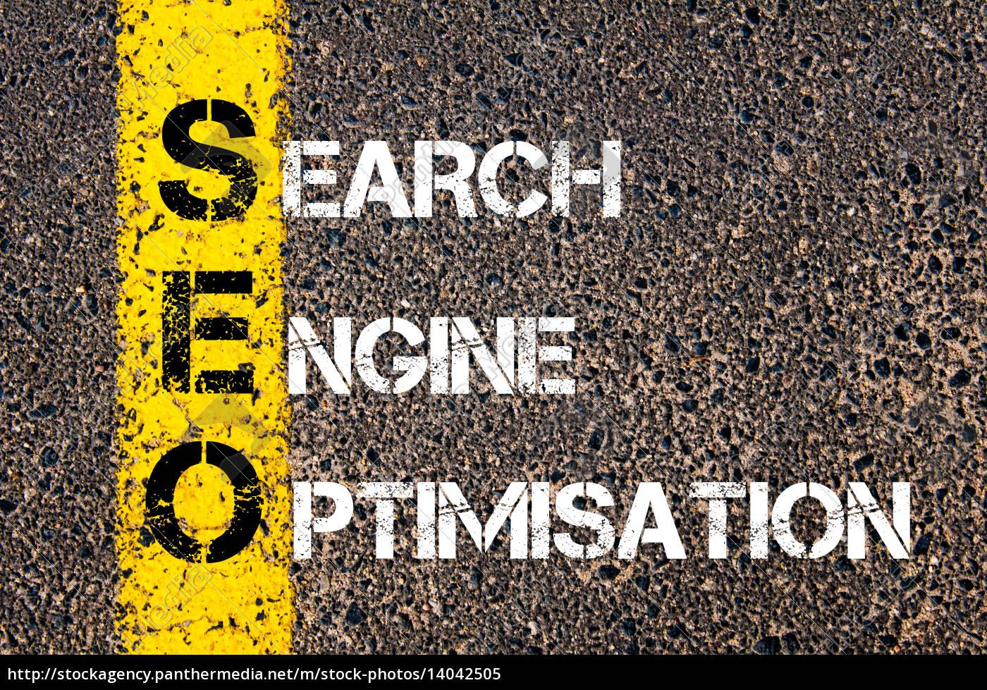 acronym, seo, -, search, engine, optimisation - 14042505