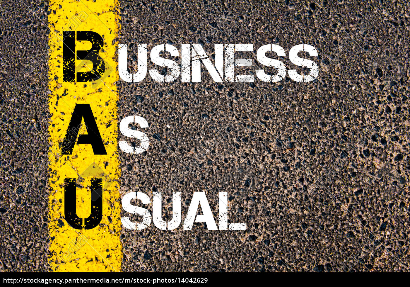 business, acronym, bau, –, business, as - 14042629