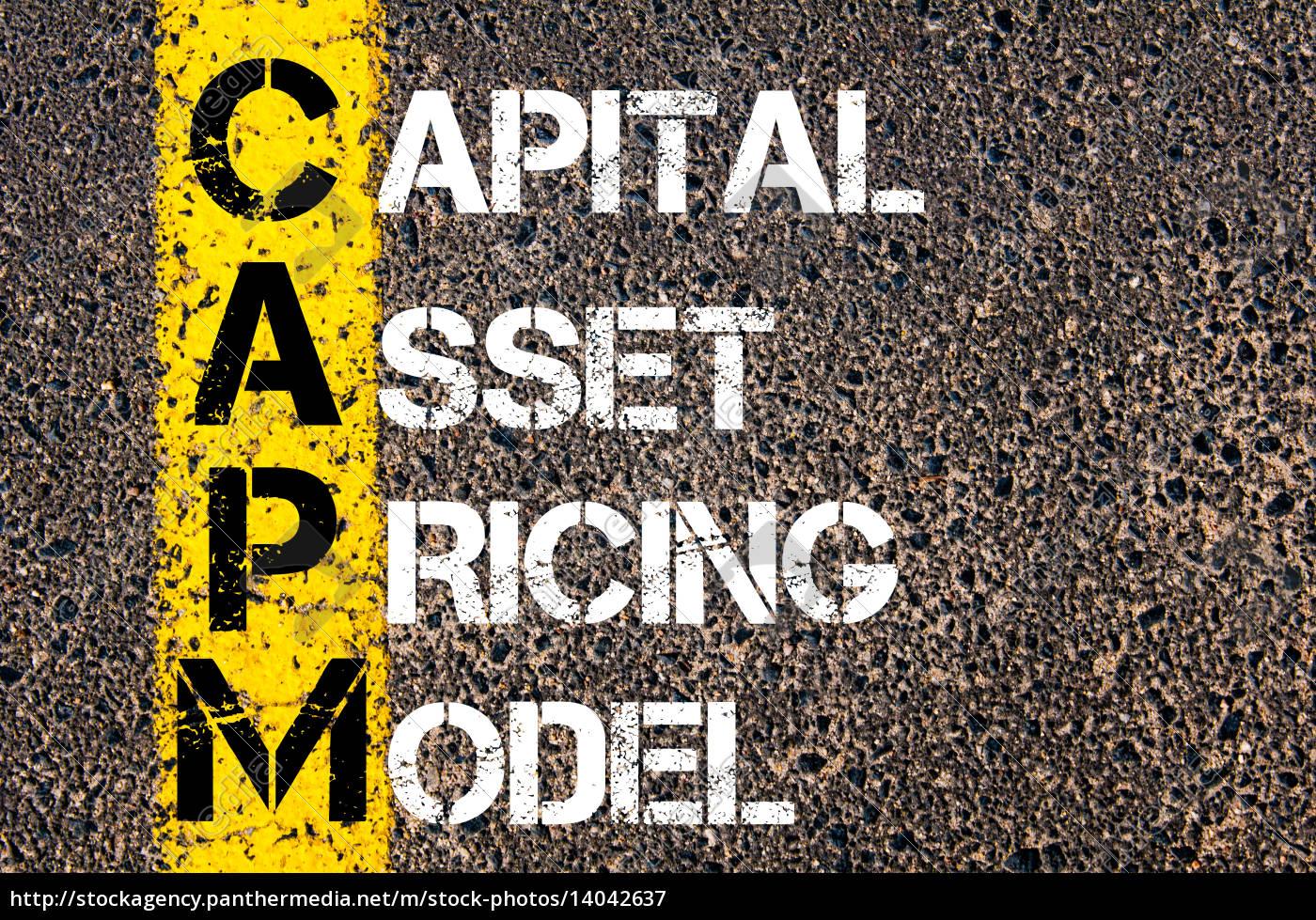 business, acronym, capm, –, capital, asset - 14042637
