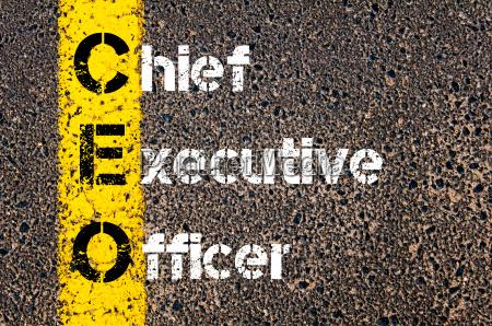 business, acronym, ceo, –, chief, executive - 14042653