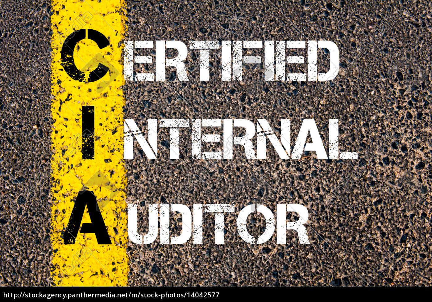 business, acronym, cia, –, certified, internal - 14042577