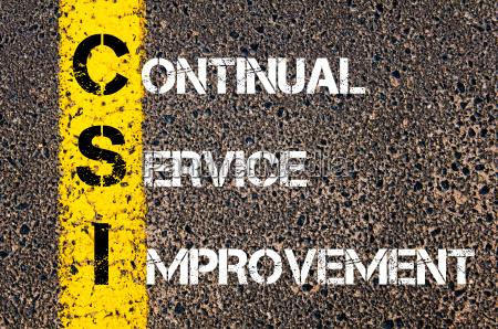 business, acronym, csi, -, continual, service - 14042599