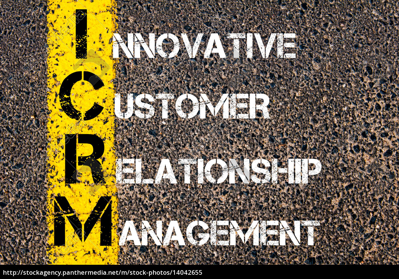 business, acronym, icrm, –, innovative, customer - 14042655