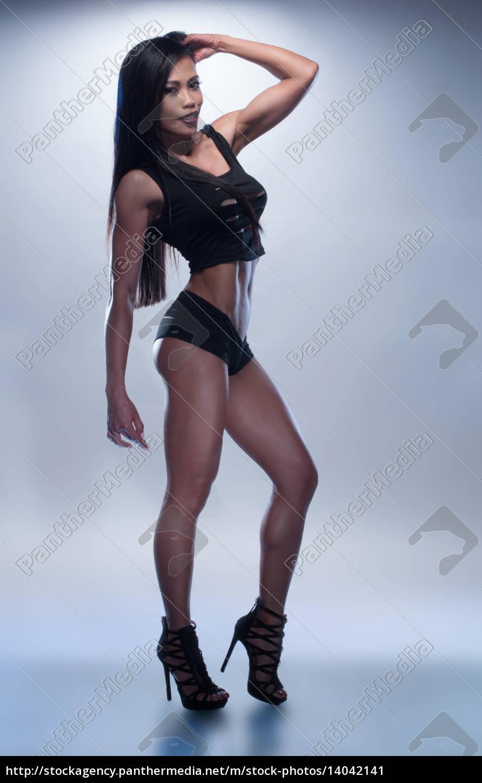hot, asian, fitness, woman - 14042141