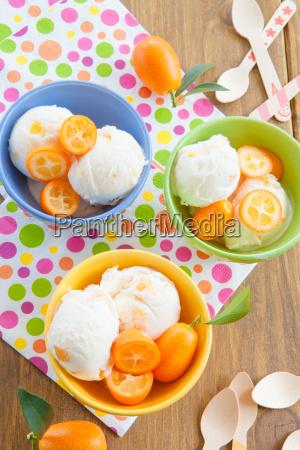 ice, cream, with, kumquats - 14043437