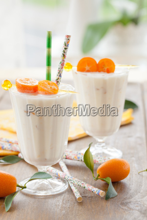 milkshake, with, kumquats - 14043455