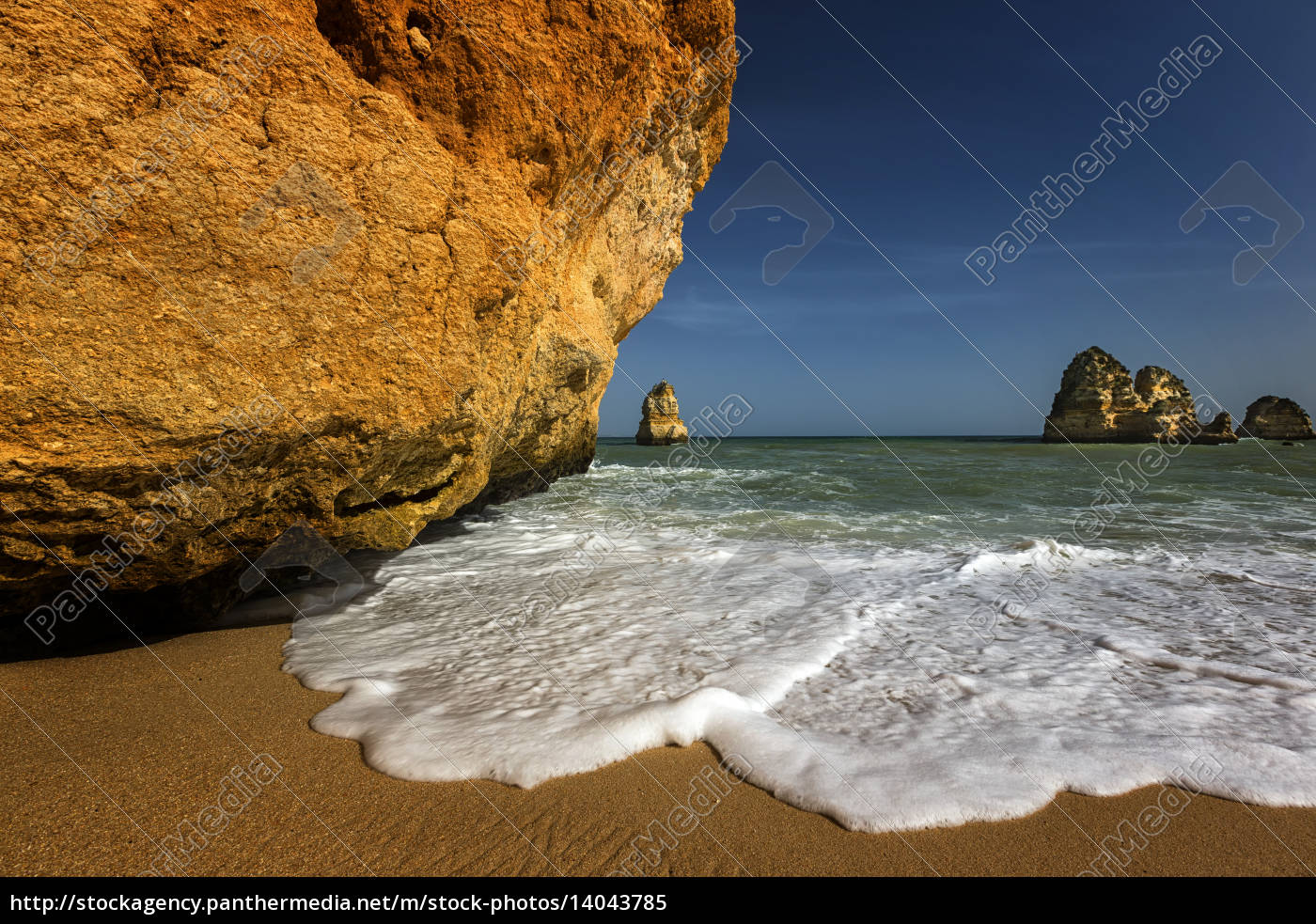 portugal, algarve, lagos, praia, do, camilo, felsalgarve - 14043785
