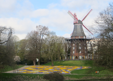 spring at the mill in bremen