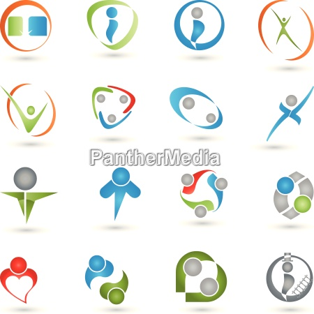 people people logos collection
