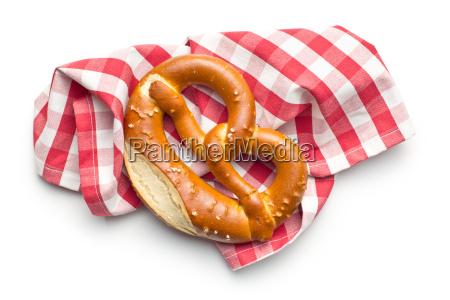 baked pretzel
