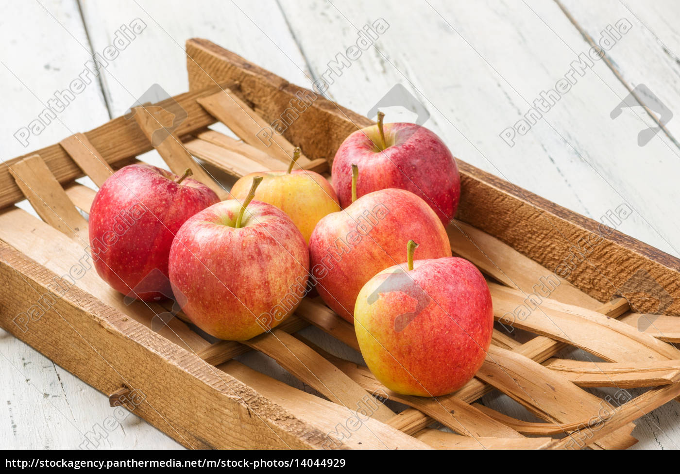 apples, in, front, of, a, rustic - 14044929