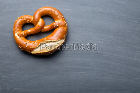 baked, pretzel, on, a, chalkboard - 14044863