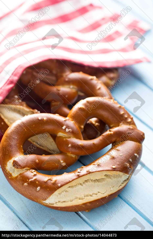 baked, pretzels - 14044873
