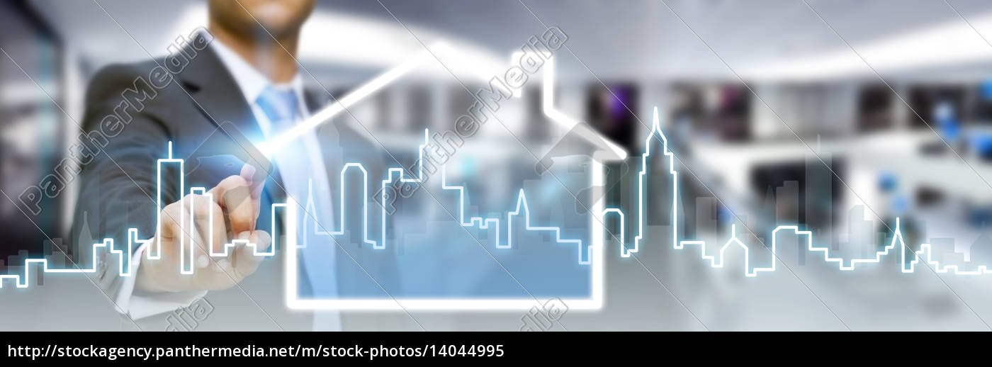 businessman, in, his, office, using, tactile - 14044995