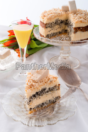 cheese, almond, cake - 14044113