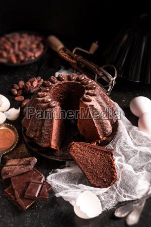 chocolate, cake - 14044139