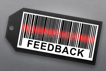 feedback, barcode - 14044457