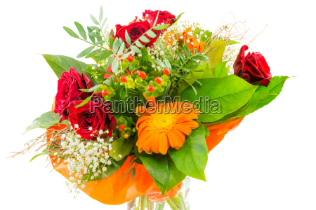 isolated, flower, bouquet - 14045427
