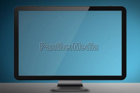 modern, screen, monitor - 14045181