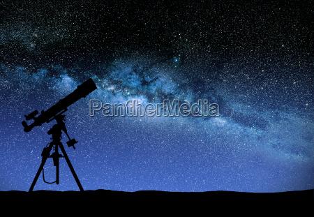 telescope, watching, the, wilky, way - 14045197