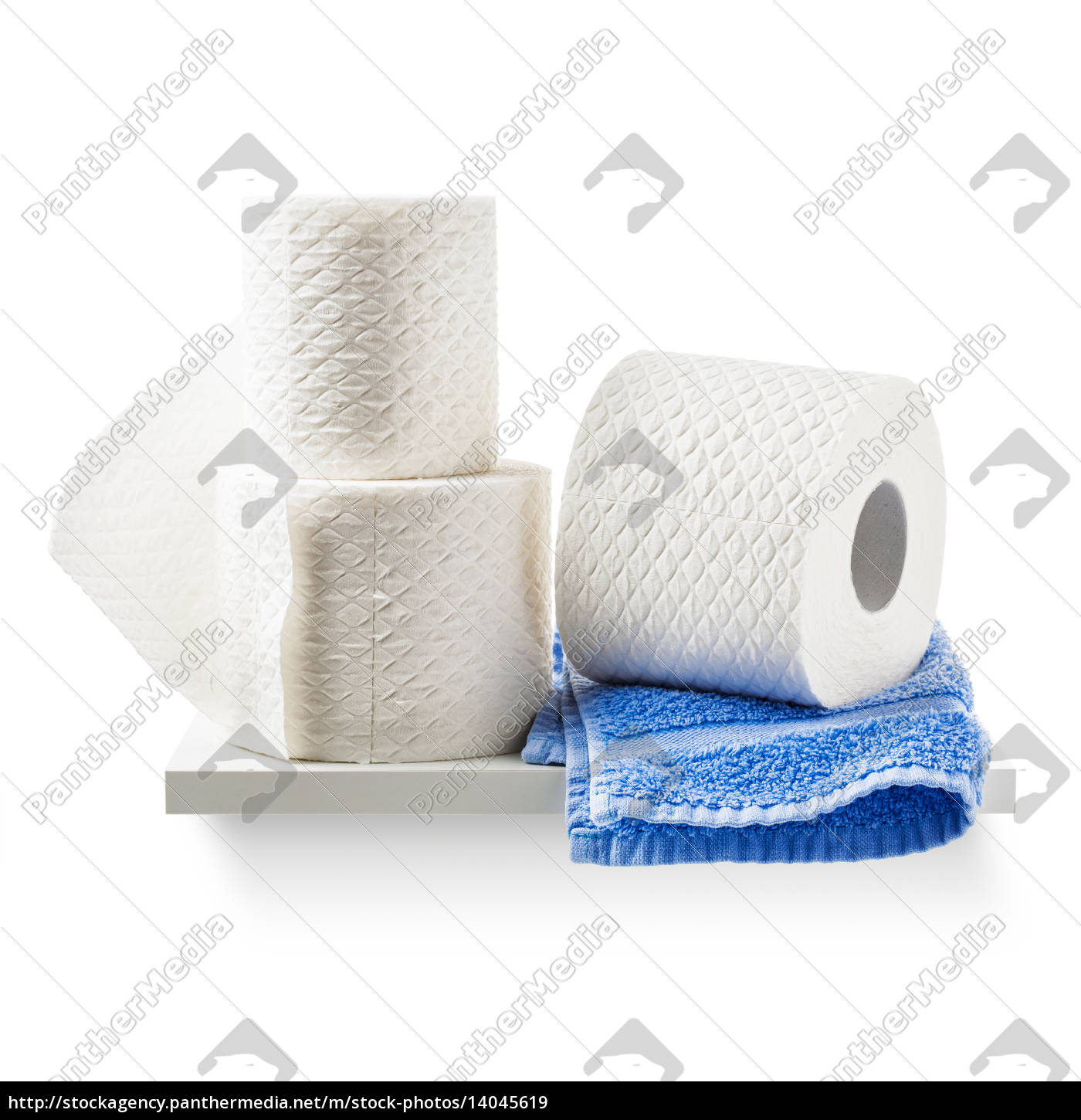 toilet, paper, and, towel - 14045619