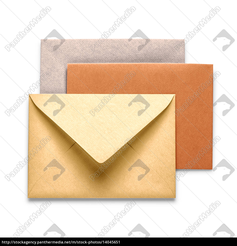 vintage, brown, envelopes - 14045651