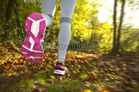 woman, running, - 14045109