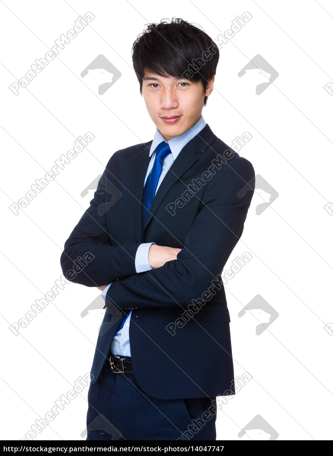 handsome, young, asian, man, standing, wearing - 14047747