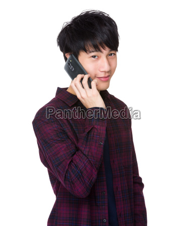 handsome, young, asian, man, take, a - 14047693