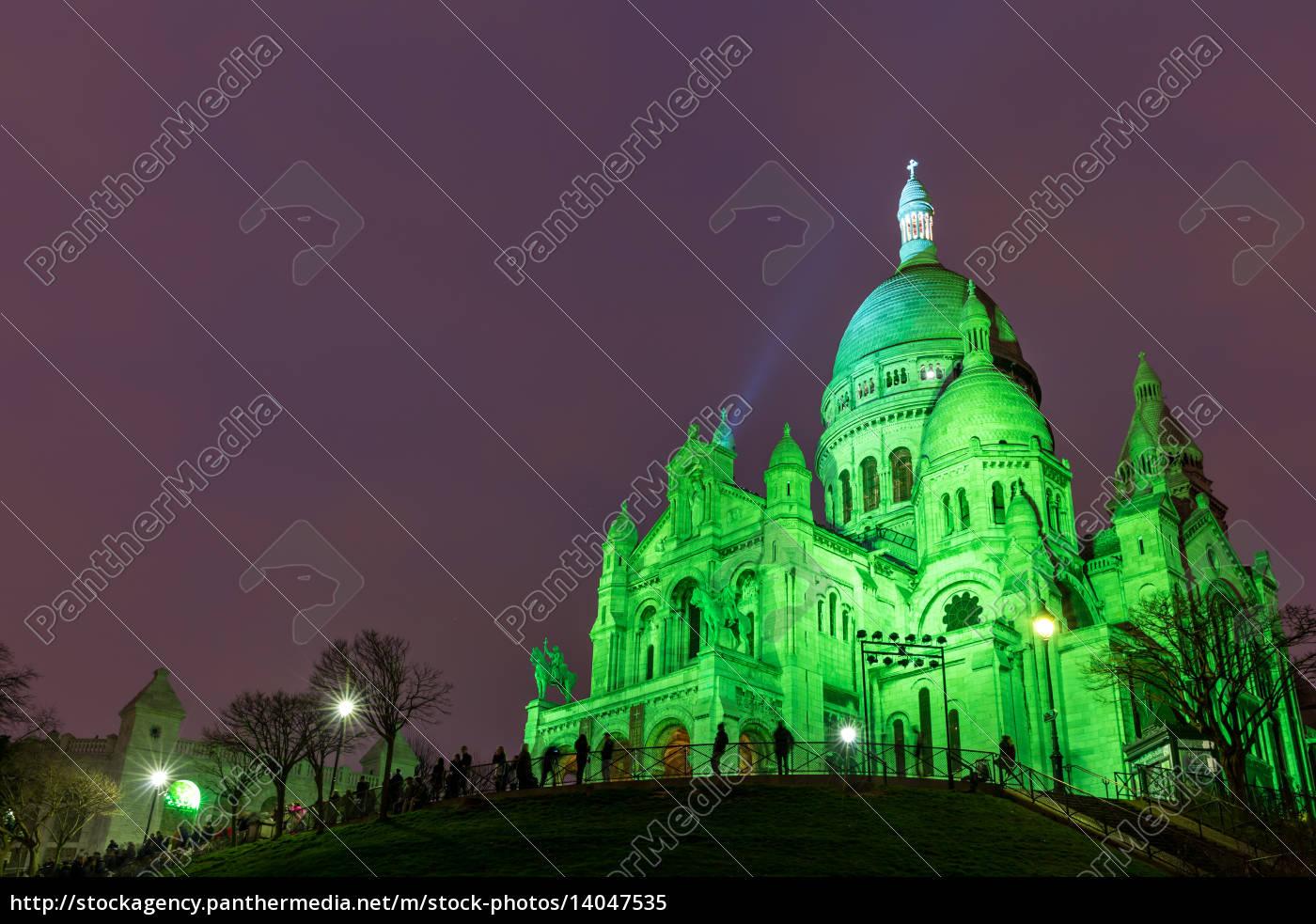 sacre, coeur, in, montmartre, , paris, at - 14047535