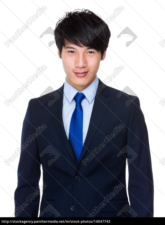 smart, asian, business, man - 14047743