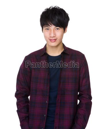 young, asian, man - 14047619