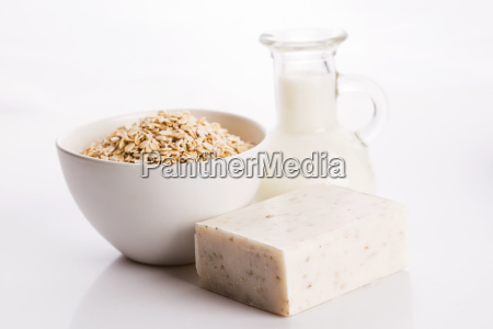 oatmeal, soap - 14048227