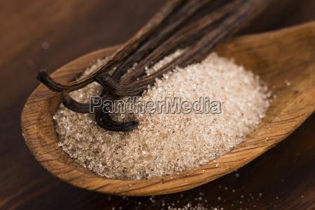 vanilla, sugar, and, vanilla, beans - 14048077