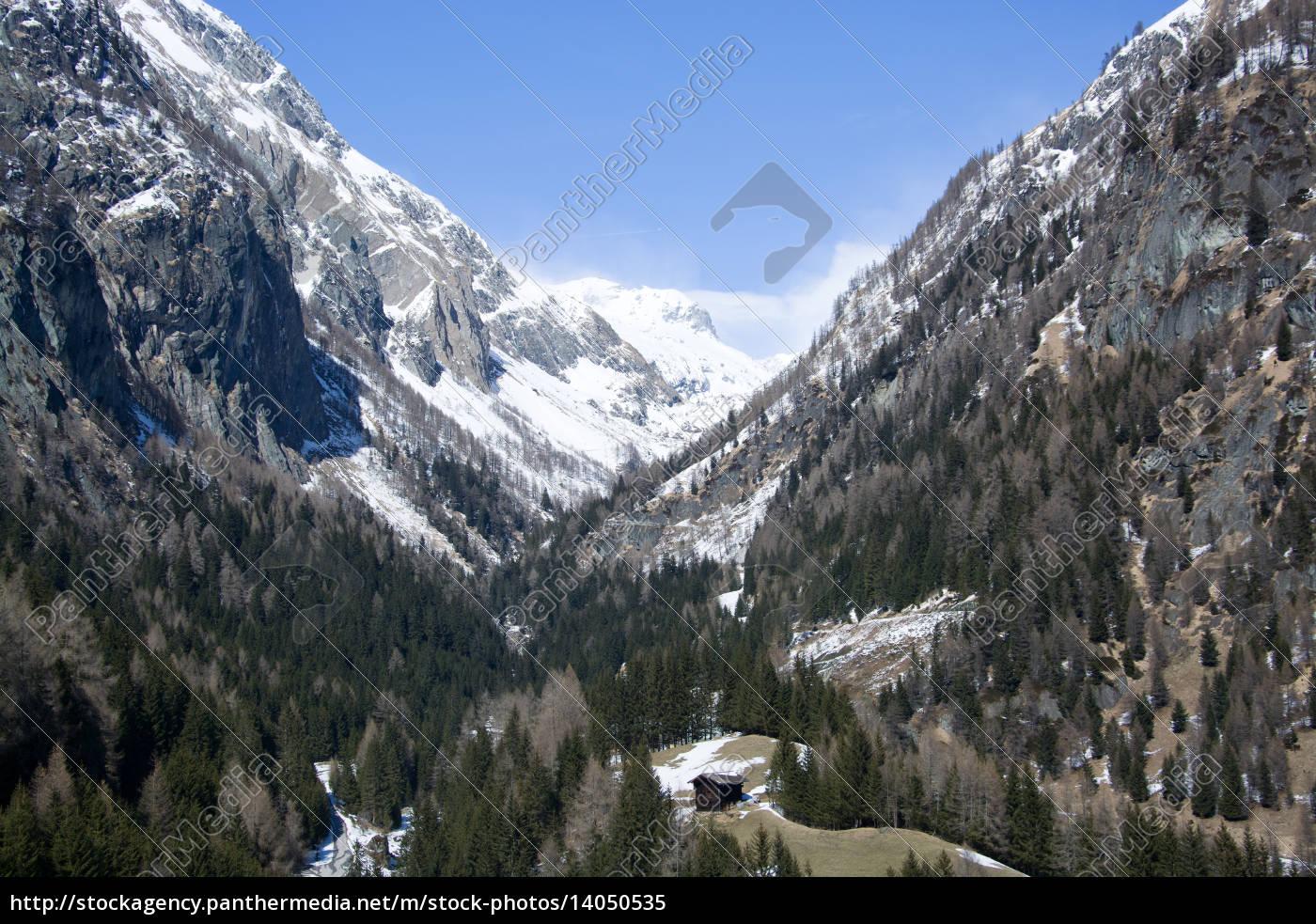 dorfertal, east, tyrol, austria - 14050535