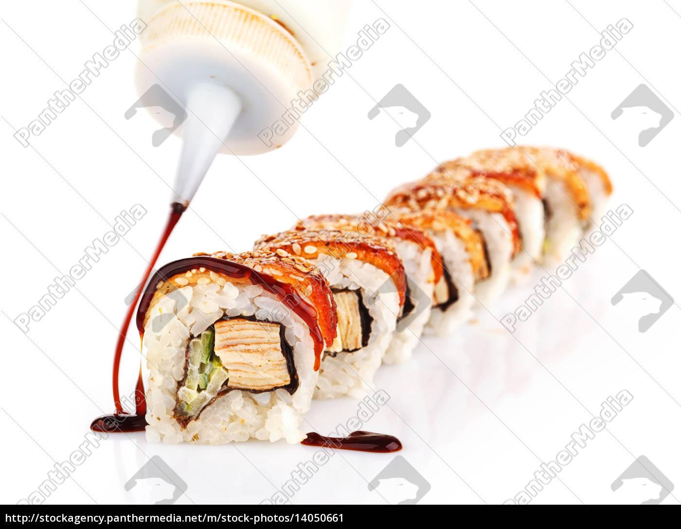 sushi, rolls - 14050661