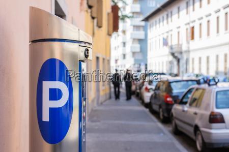 machine parking