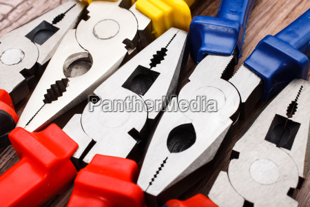 head of pliers background