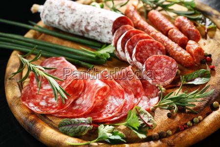 antipasto, dinner, platter, - 14051313