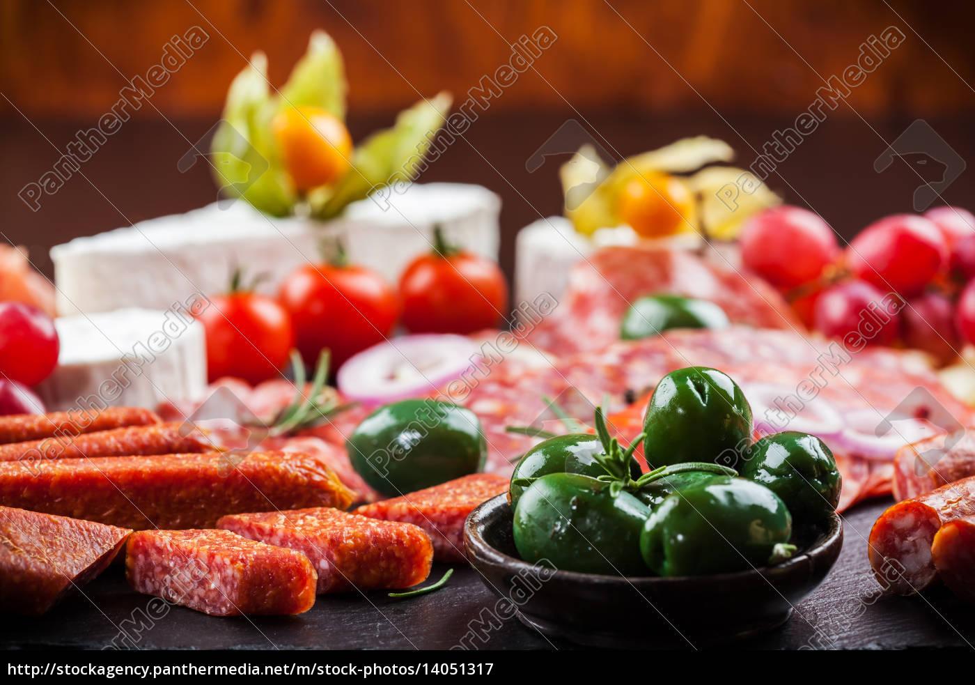 antipasto, dinner, platter, - 14051317