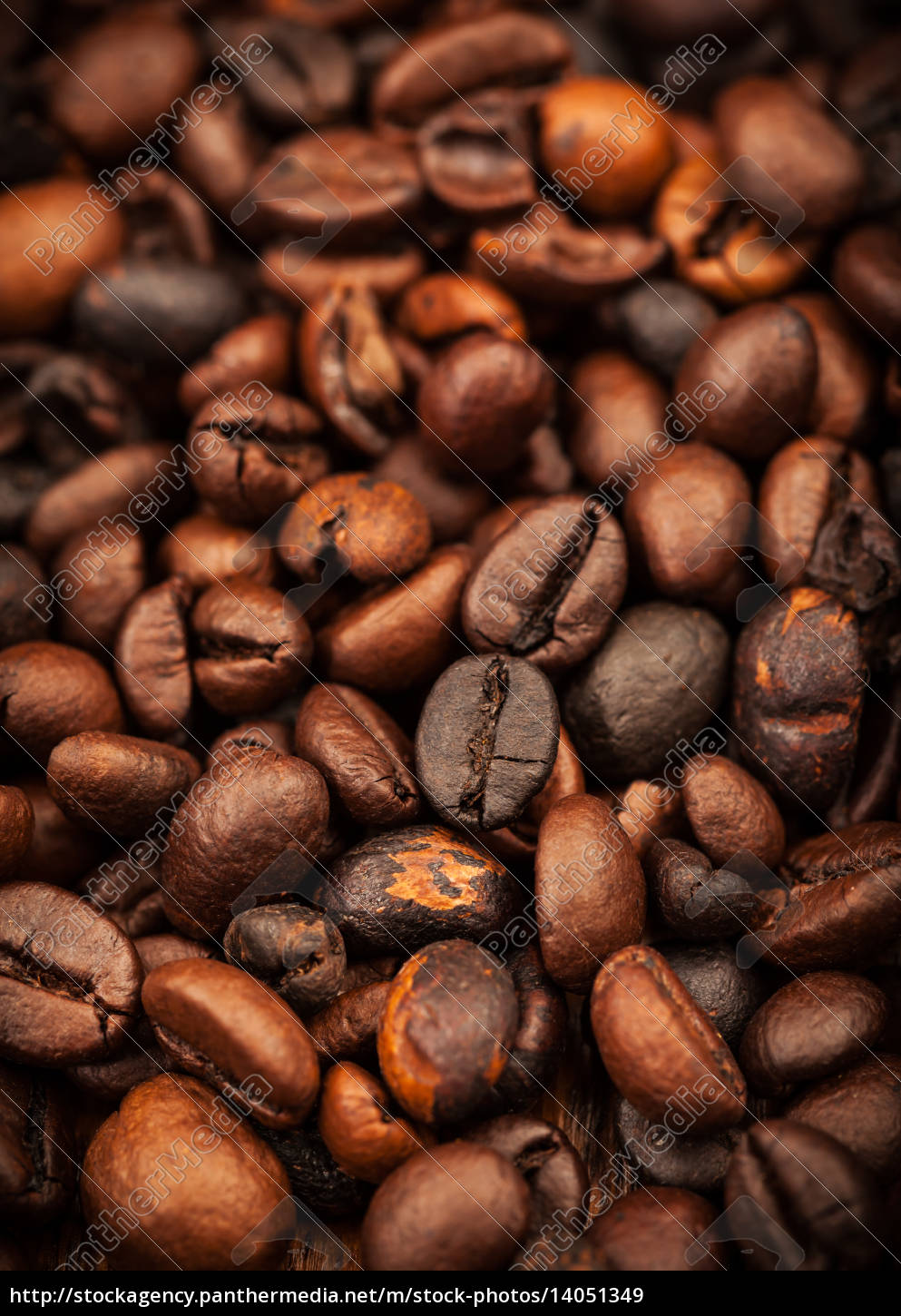 roasted, coffee, beans, as, background - 14051349