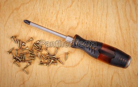screws, and, screwdriver - 14051981