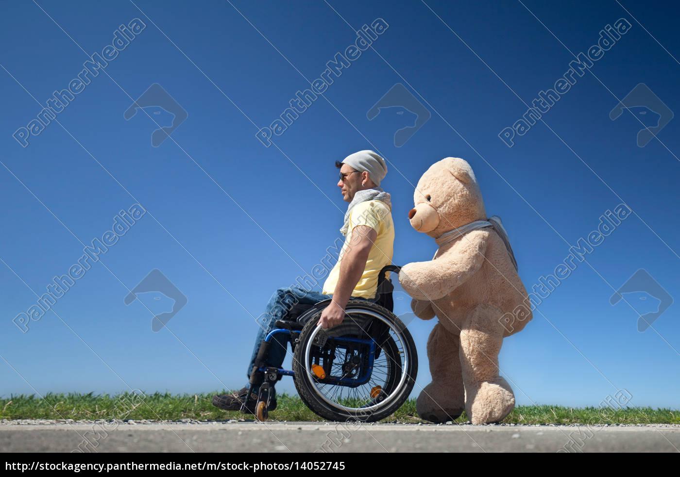 teddy, and, handicap - 14052745