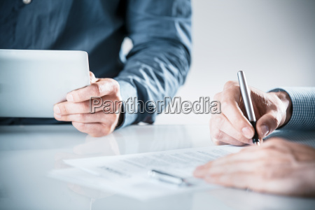 business, colleagues, working, in, the, office - 14053787