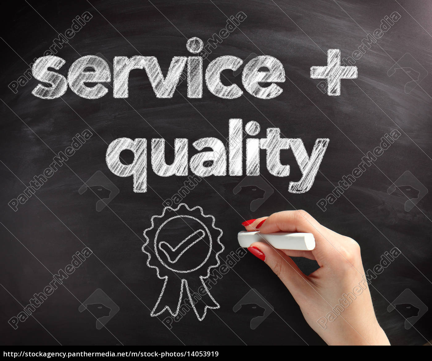 service, and, quality, text, on, board - 14053919