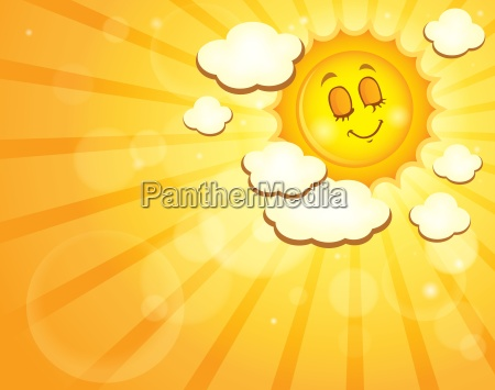 image, with, happy, sun, theme, 4 - 14054117