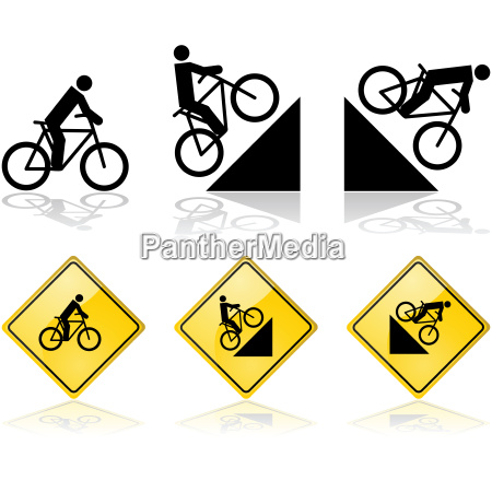 bicycle, signs - 14055287