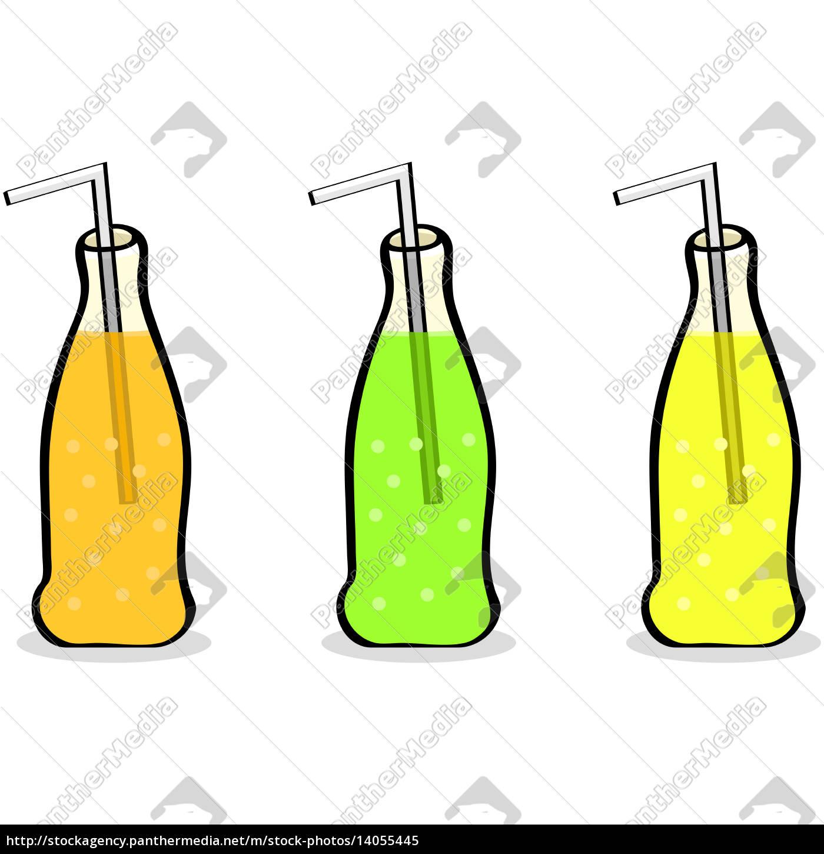 soft, drink, bottles - 14055445