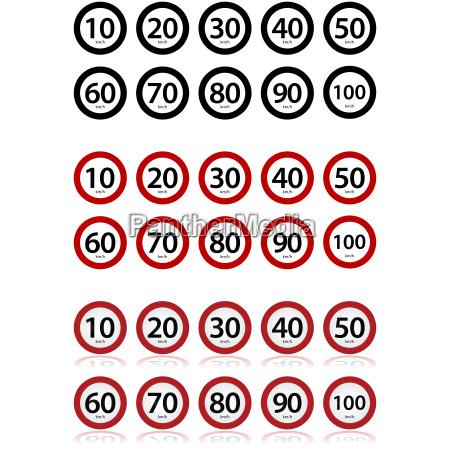 speed, limits - 14055453